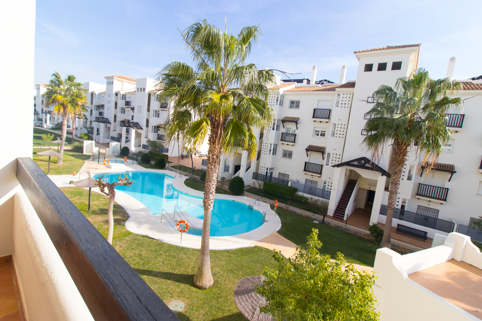 Residencial Duquesa Apartment: View from Terrace